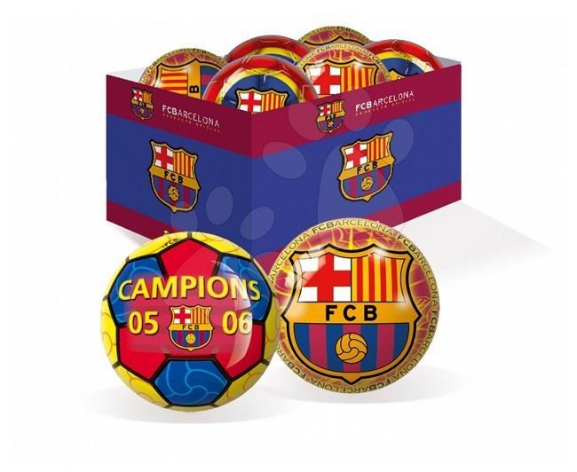 Gumená lopta FC Barcelona Unice 15 cm