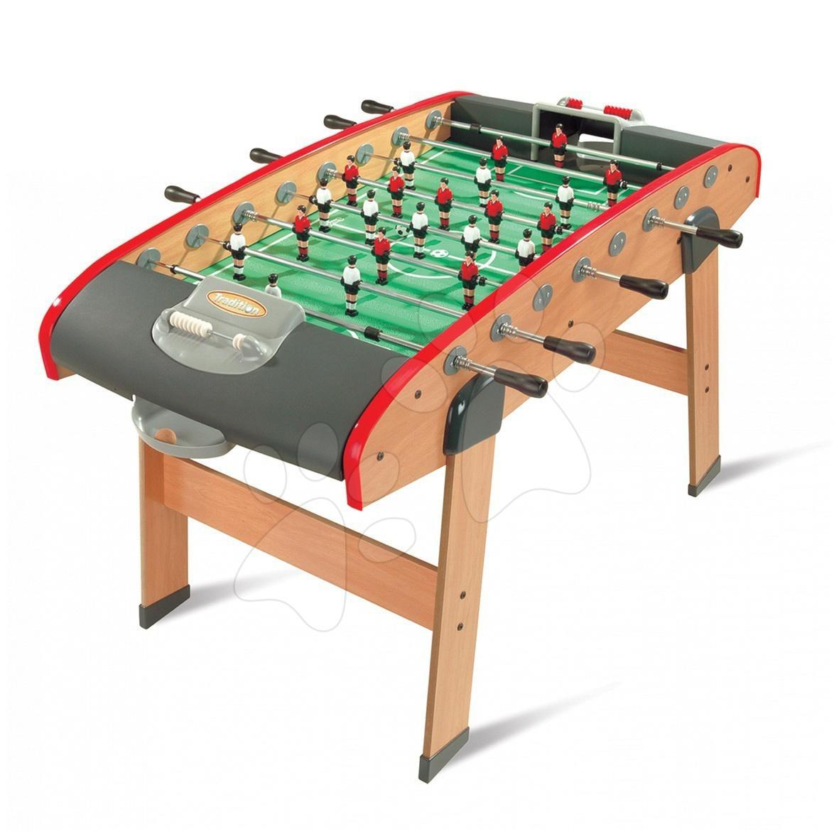 Stolní fotbal - Dřevěný fotbalový stůl Tradition Smoby #VALUE! od 8 let