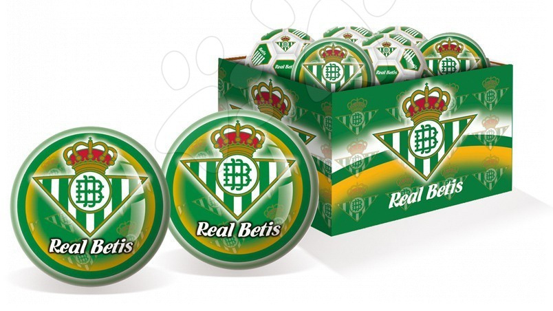 Sportovní míče - Pryžový míč Real Betis Unice 15 cm