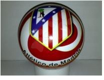 Gumijasta žoga Atlético Madrid Unice 15 cm