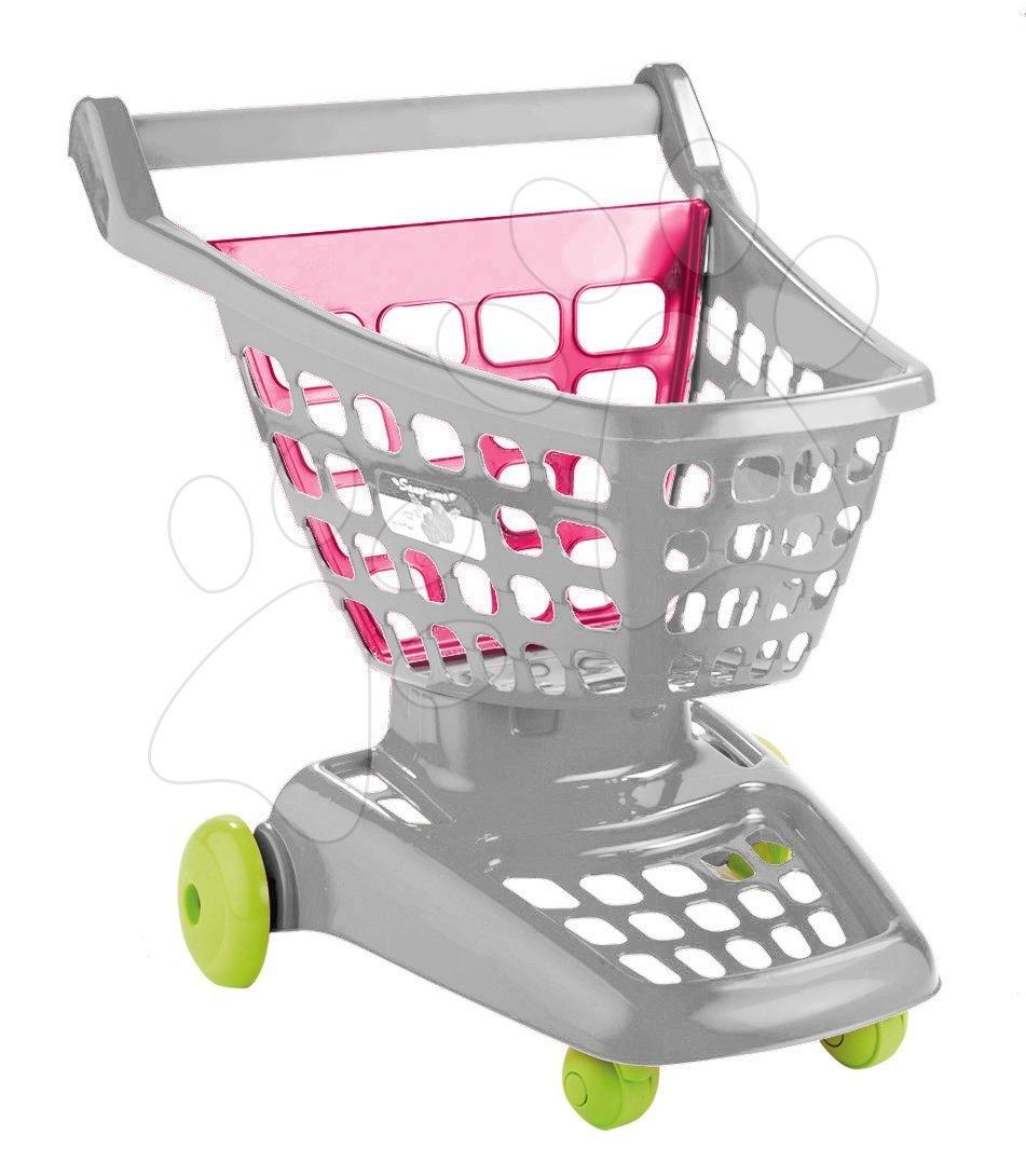 Obchody pro děti - Nákupní vozík Pro Cook Trolley Écoiffier na kolečkách od 18 měsíců
