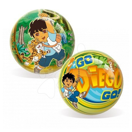 Pohádkové míče - Pohádkový míč Go Diego Go Unice 15 cm