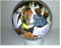 Pohádkové míče - Míč Bakugan Unice 15 cm