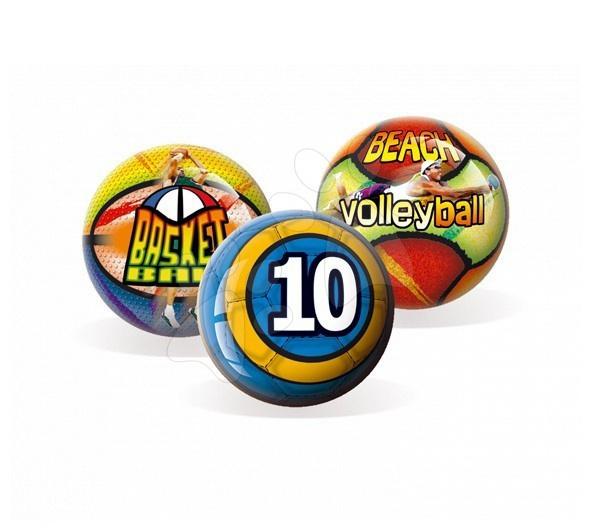 Sportovní míč Unice pryžový 15 cm 3 druhy
