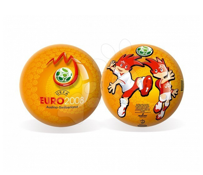 Gumená lopta Euro 2008 Unice 15 cm