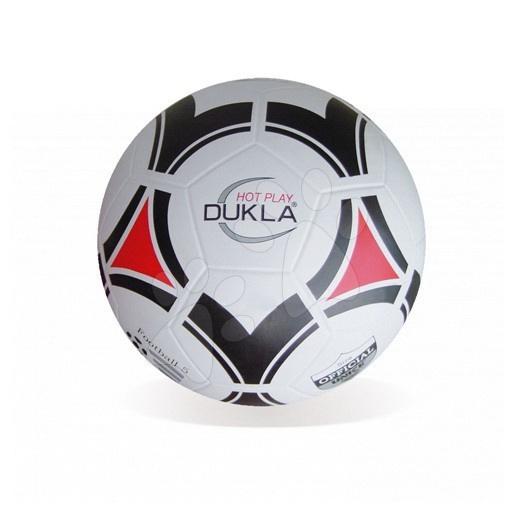 Sportovní míče - Fotbalový míč Hot Play Dukla Unice 22 cm silná guma