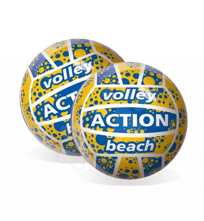 Športové lopty - Volejbalová lopta Volley Action Beach Unice gumená 22 cm