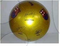 Nogometna žoga FC Barcelona Unice 22 cm trdna guma