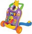 Dětská chodítka - Activity chodítko Kiddieland se zvuky Medvídek Pooh