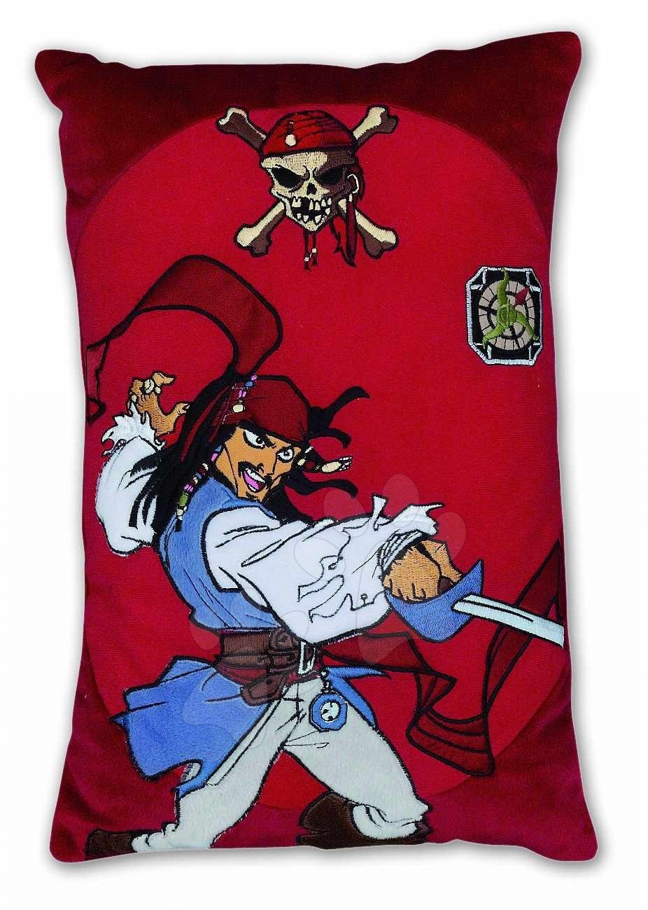 Vankúšik Piráti z Kabiriku Ilanit červený