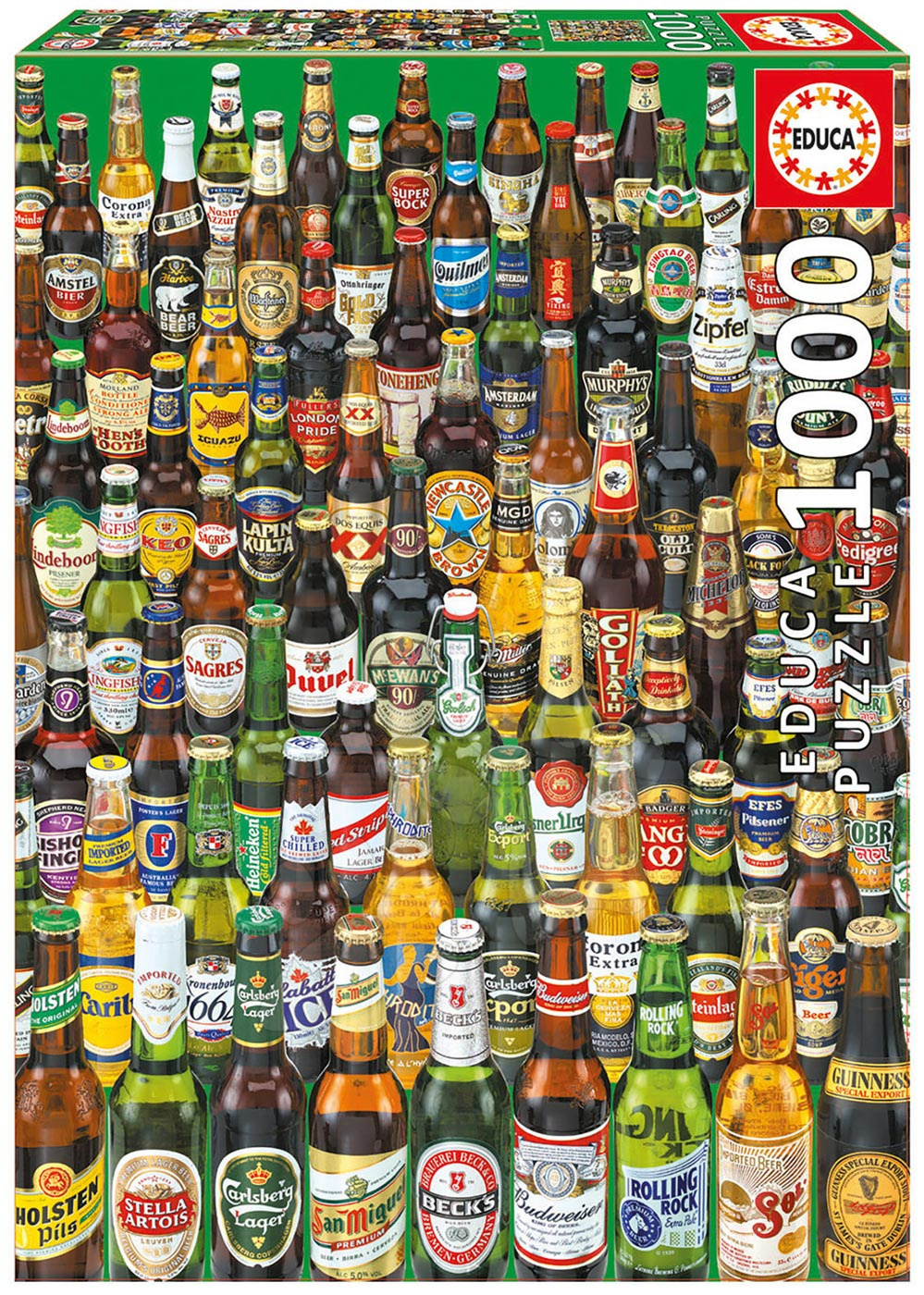 Educa Puzzle Beers 1000 dielikov 12736 farebné