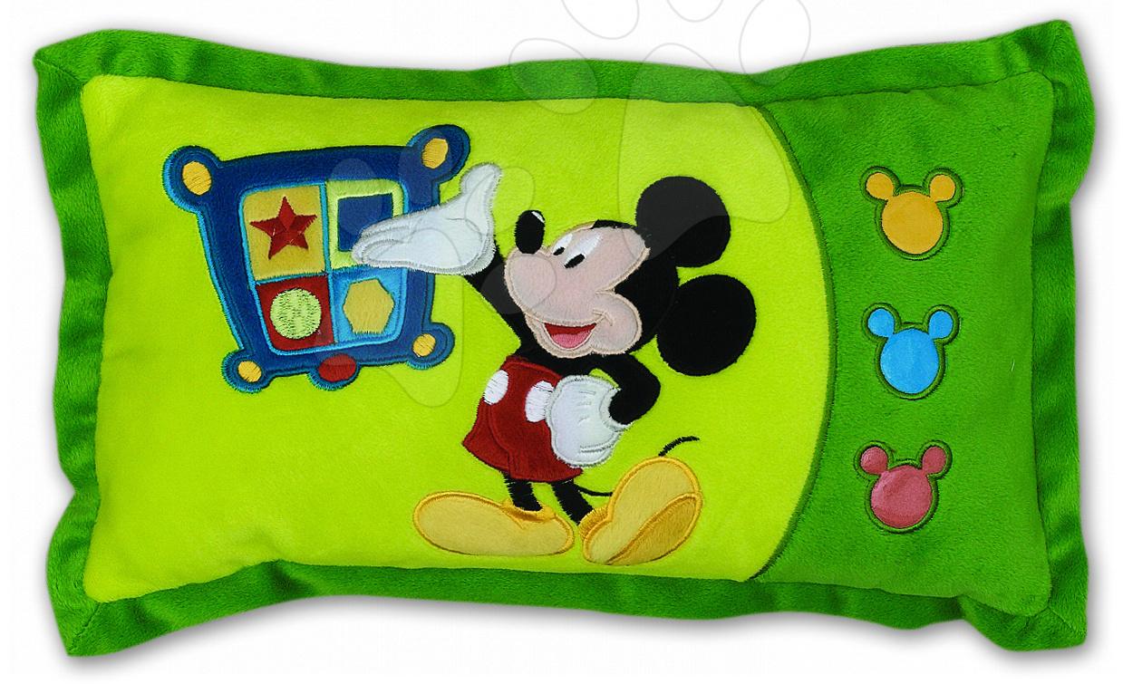Plyšové polštáře - Polštář mickey mouse Ilanit obdélníkový