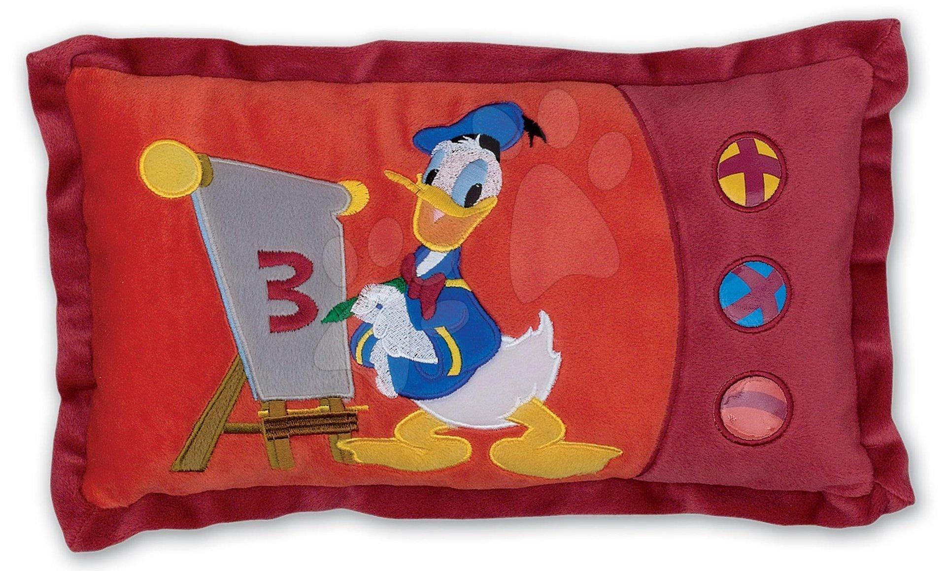 Plyšové vankúše - Vankúš Mickey Mouse Ilanit Donald obdĺžnikový