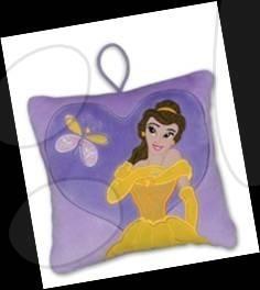 Polštářek pro děti WD Princezny Ilanit Kráska 17*17 cm