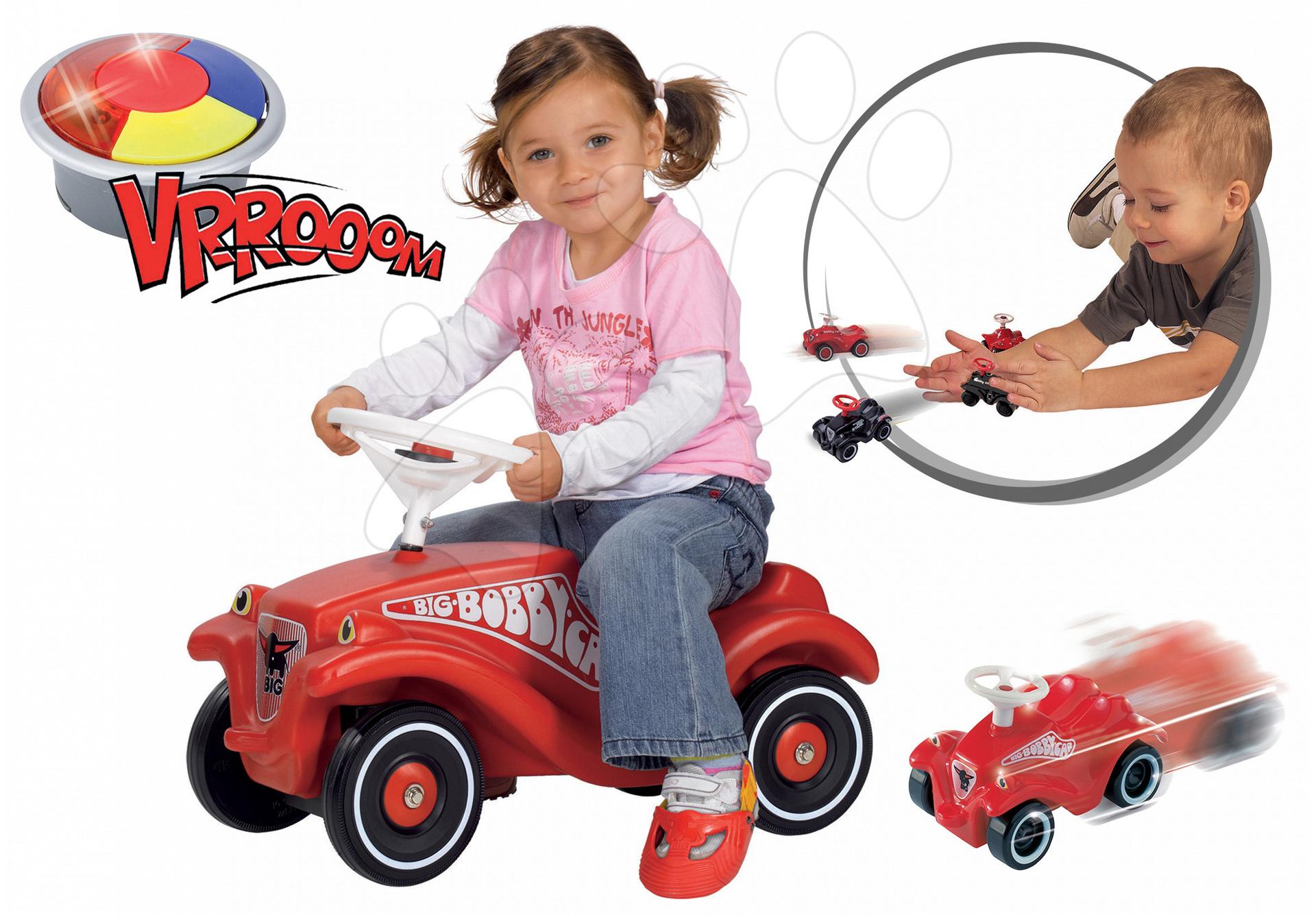 BIG odrážadlo pre deti Bobby Classic a naťahovacie autíčko Mini Bobby 01303-5