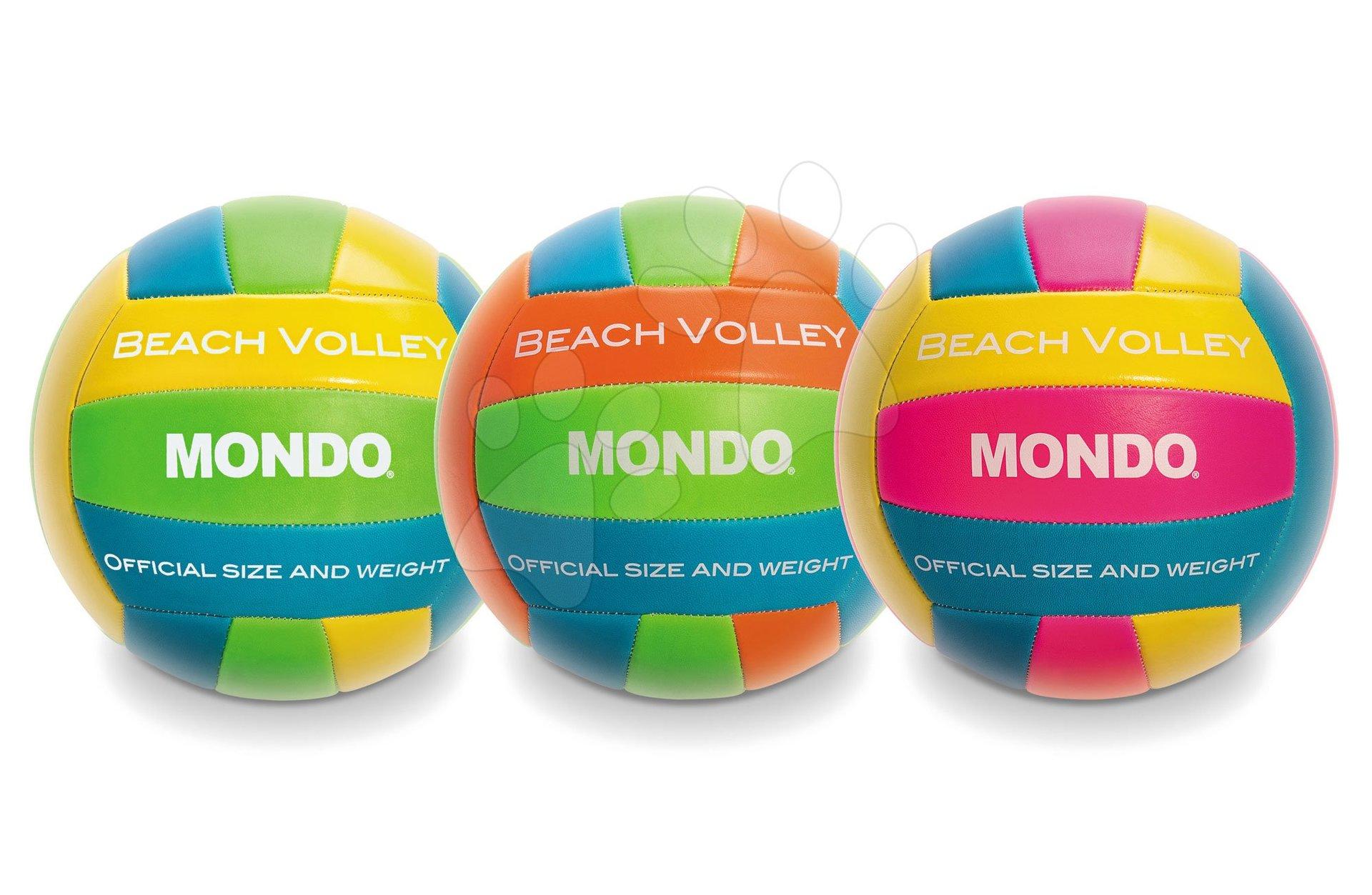 Volejbalový míč šitý Beach Volley Mondo velikost 5