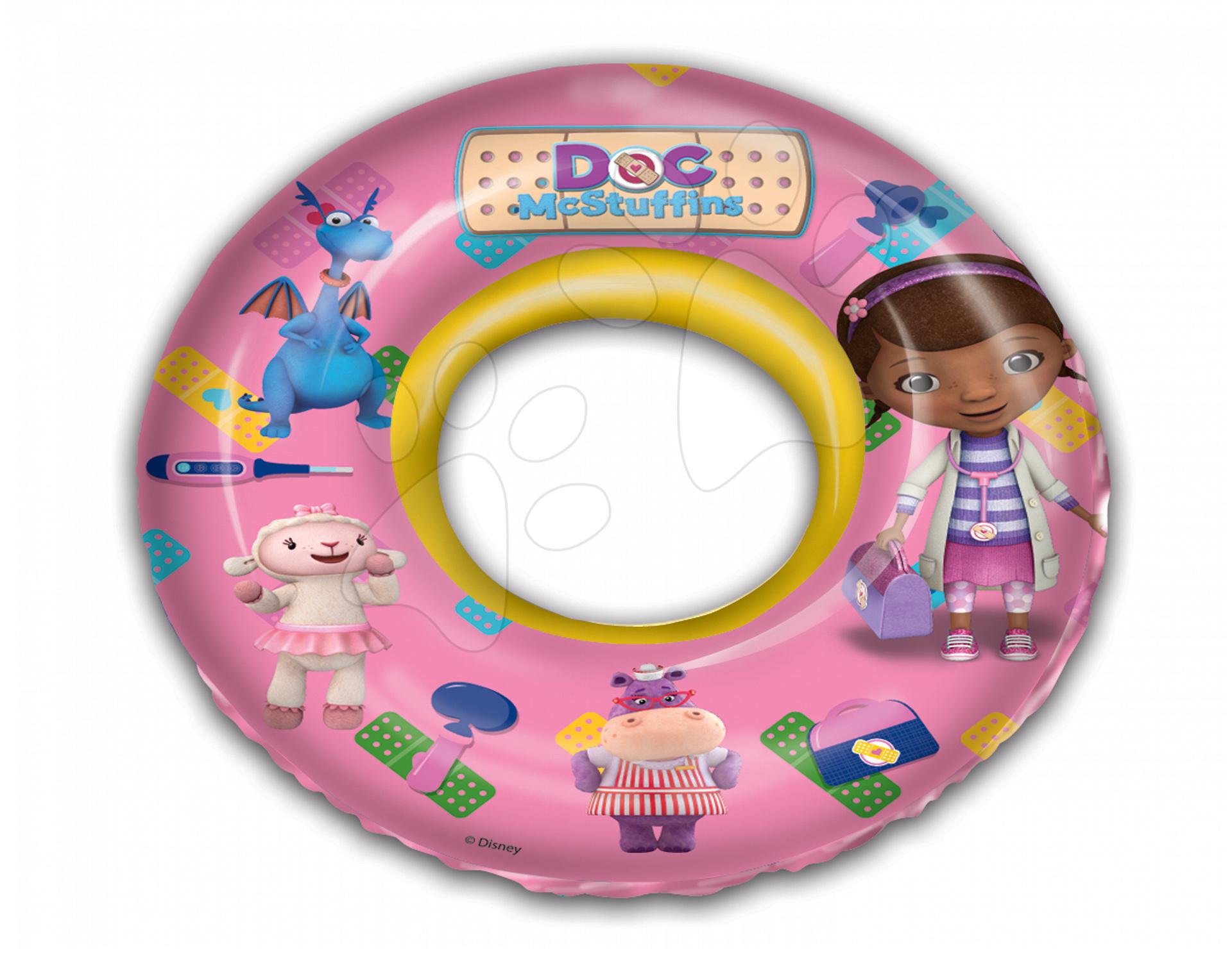 Nafukovacie kolesá - Nafukovacie koleso na plávanie Doktorka McStuffins Mondo 50 cm od 3 rokov