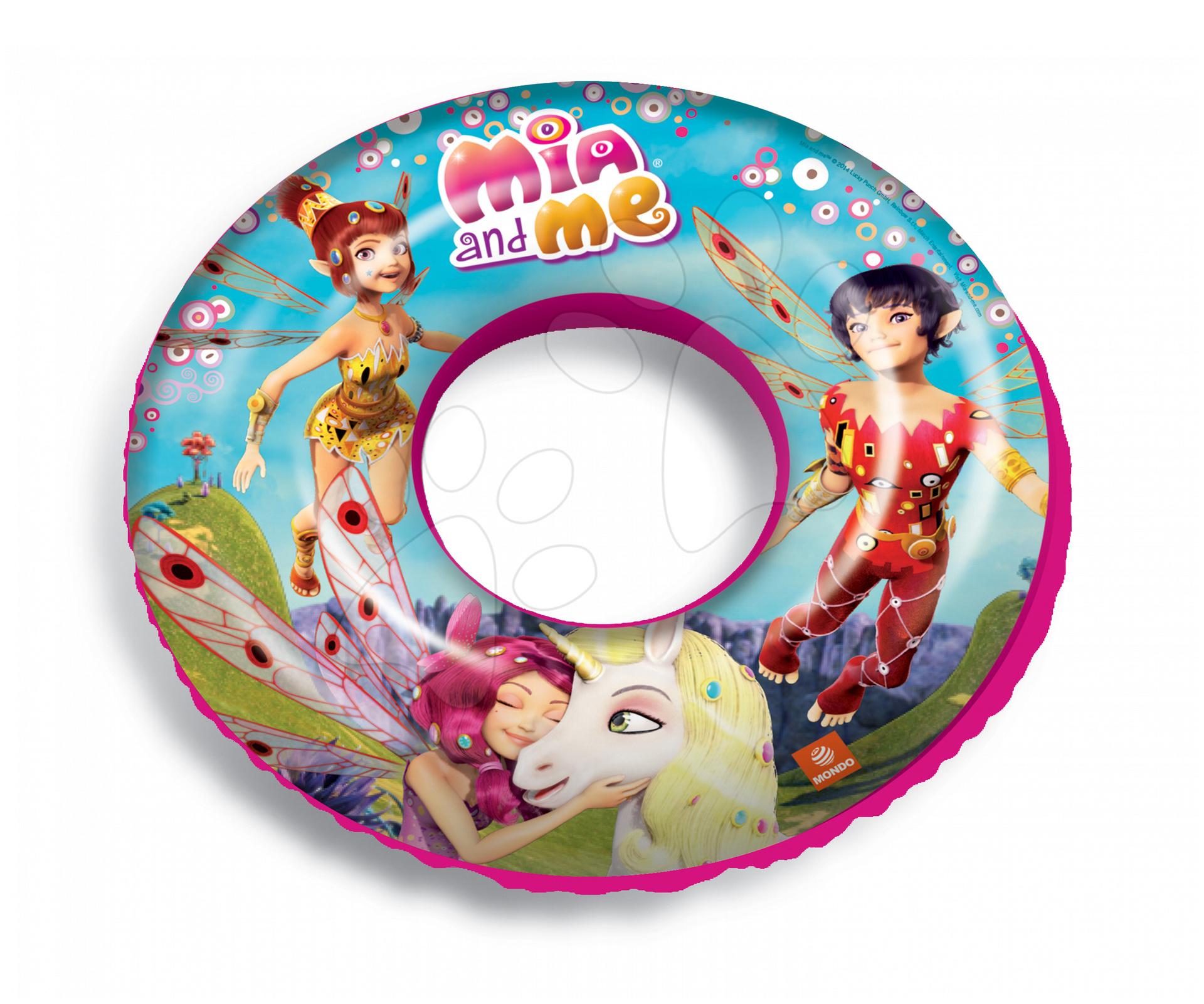 Staré položky - Dievčenské nafukovacie koleso na plávanie Mia and Me Mondo od 3 rokov