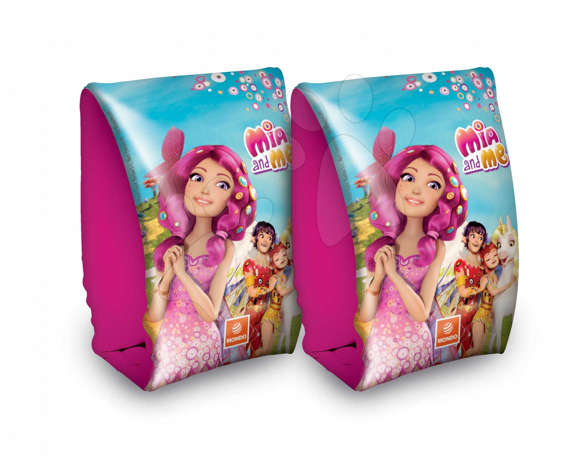 Staré položky - Dievčenské nafukovacie rukávniky na plávanie Mia and Me Mondo od 3 rokov