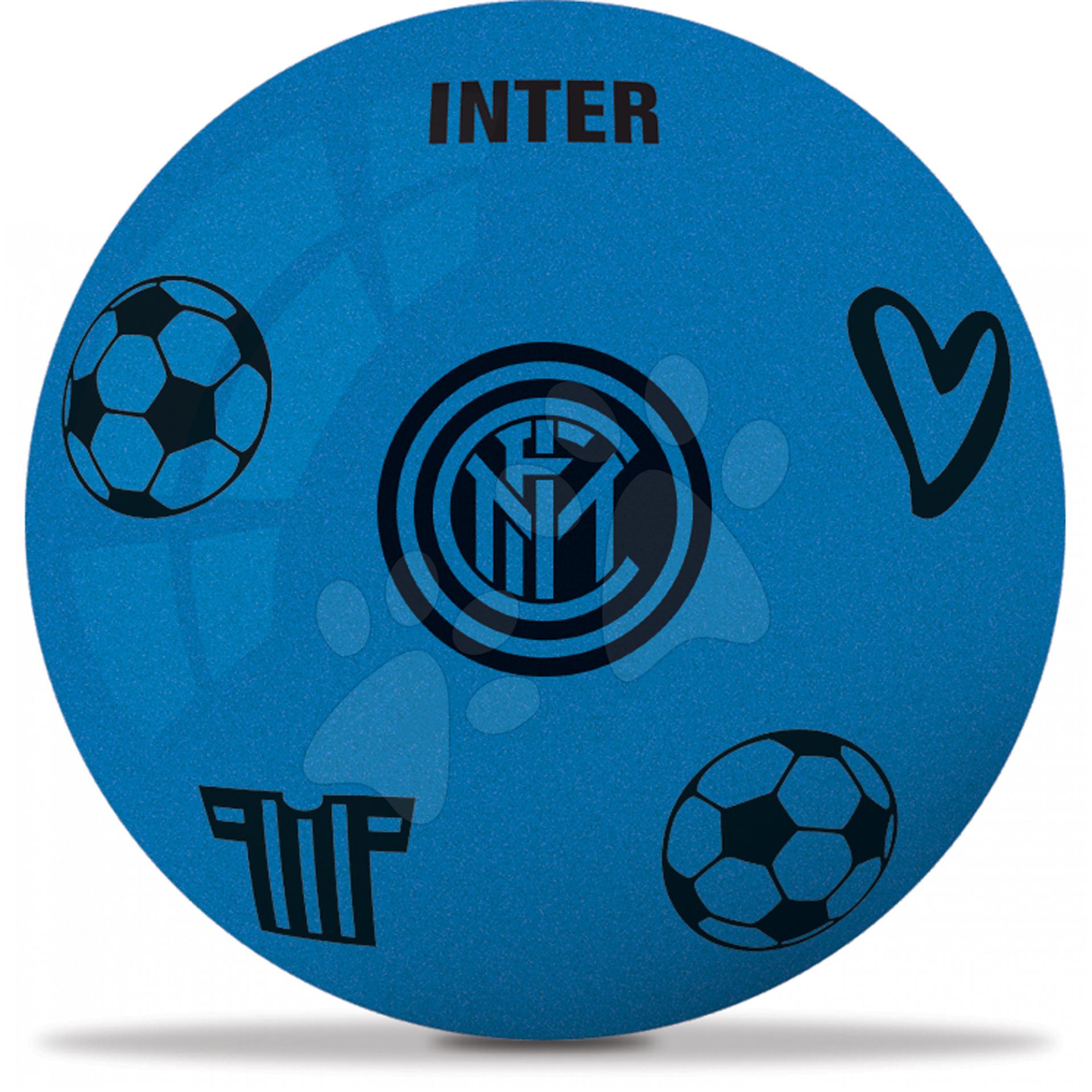 Pěnový míč F.C. Inter Mondo modrý 20 cm průměr
