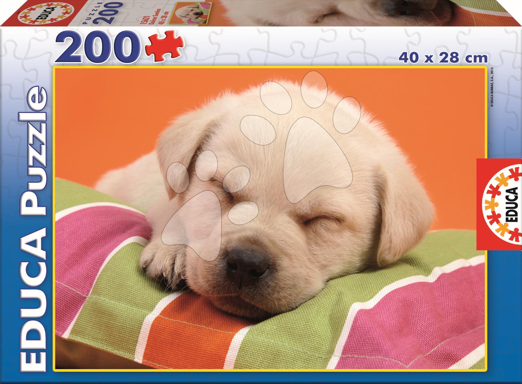 Puzzle Junior Sladké sny Educa 200 dielov od 6 rokov