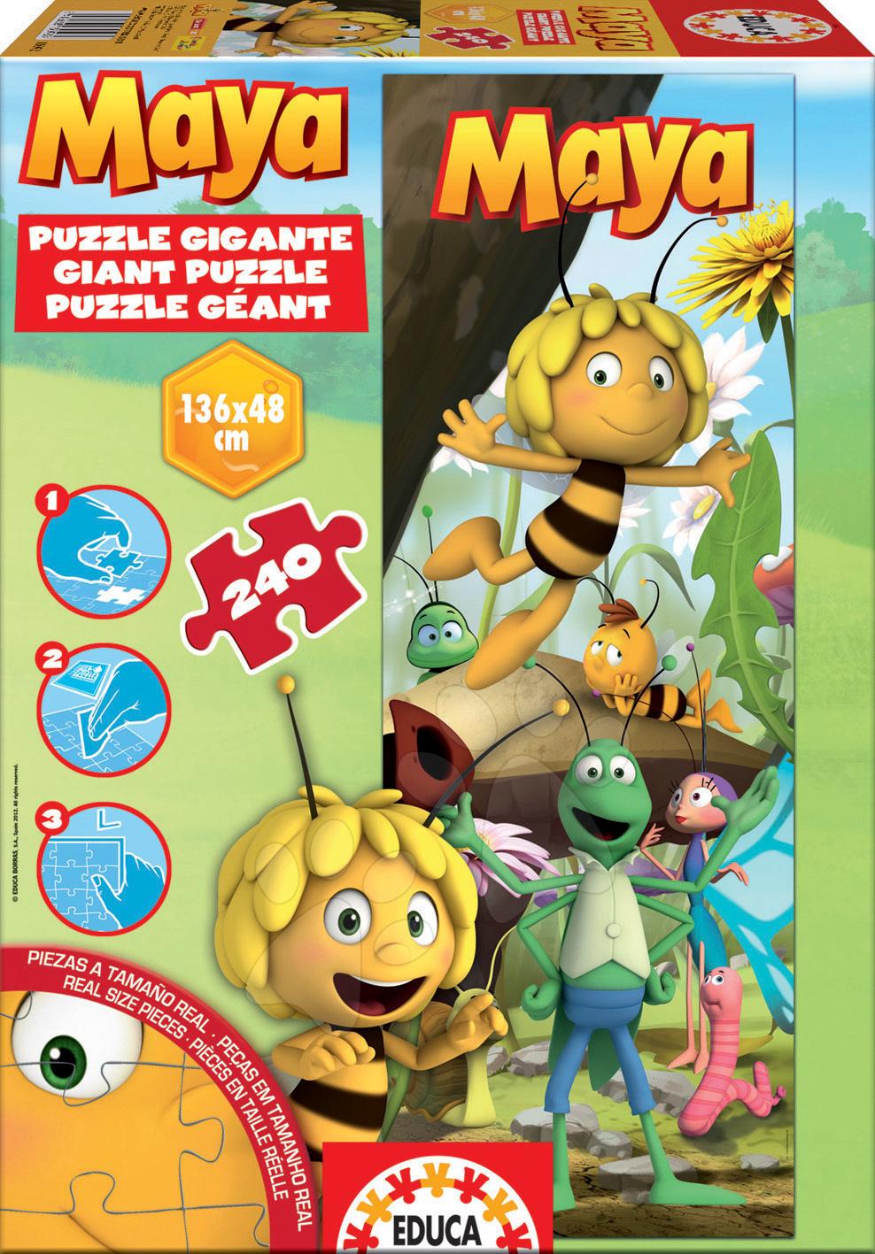 Puzzle Giant Včelka Mája Educa 240 dílů od 8 let