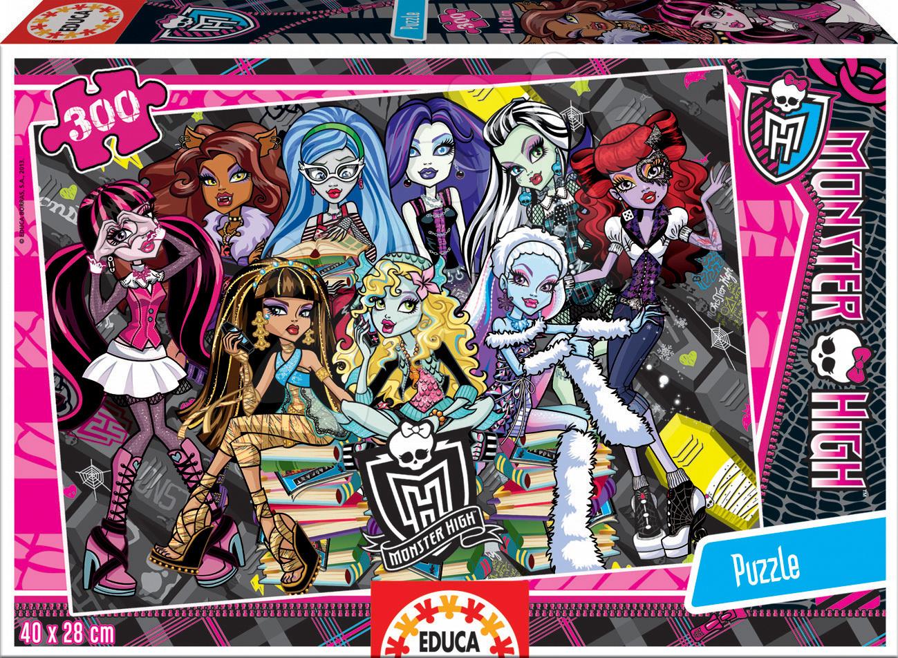 Puzzle Monster High Educa 300 dílů od 8 let