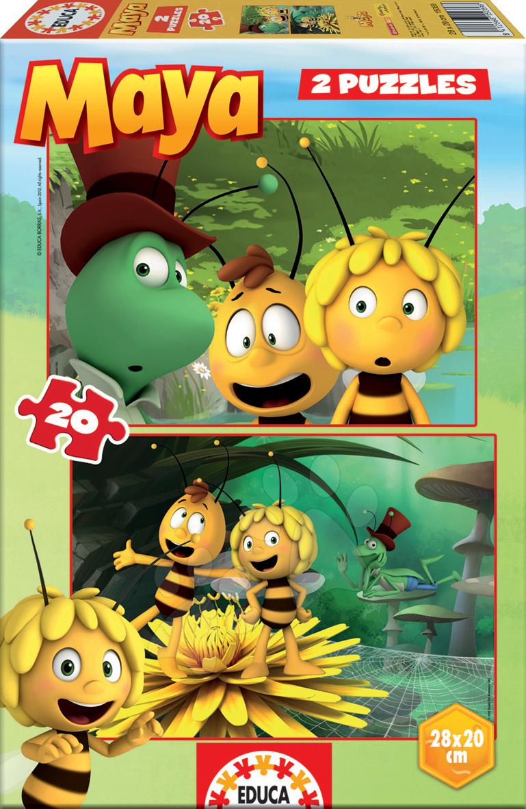 Puzzle Včielka Maja Educa 2x 20 dielov