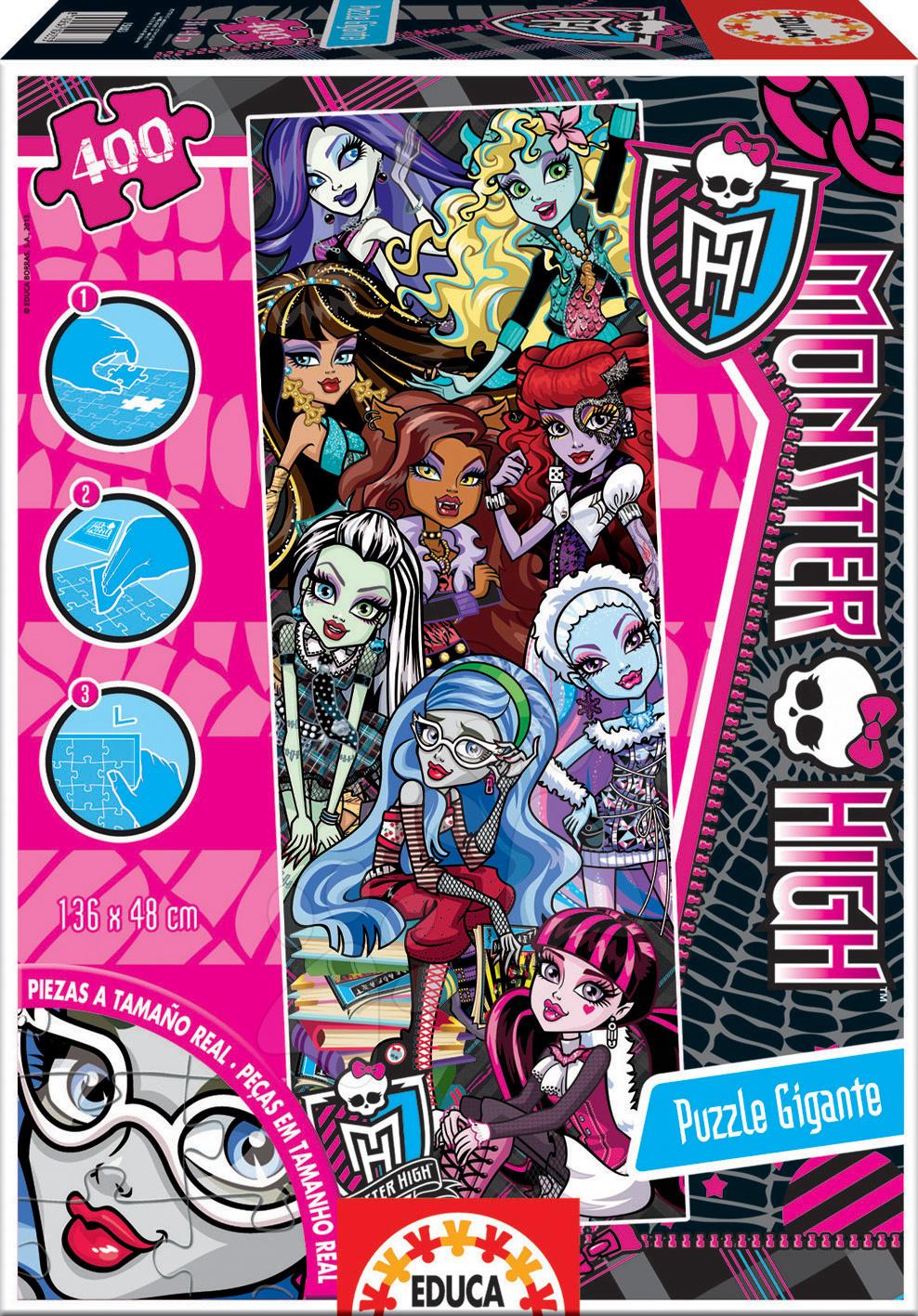 Puzzle Giant Monster High Educa 400 dielov od 8 rokov