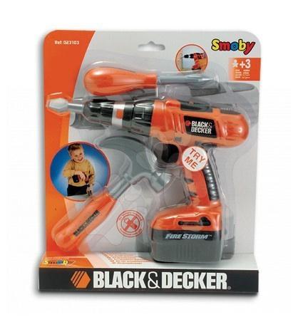 Vrtačka Black & Decker Smoby mechanická