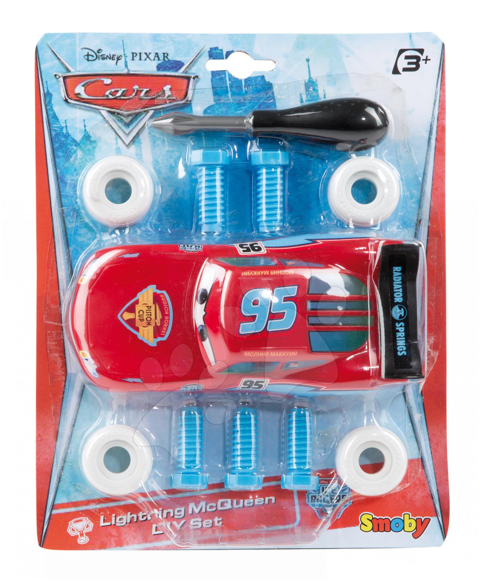 Staré položky - Rozoberateľné autíčko McQueen Cars Ice Smoby