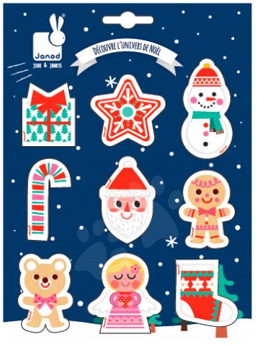 Samolepky 3D Veselé Vánoce Janod