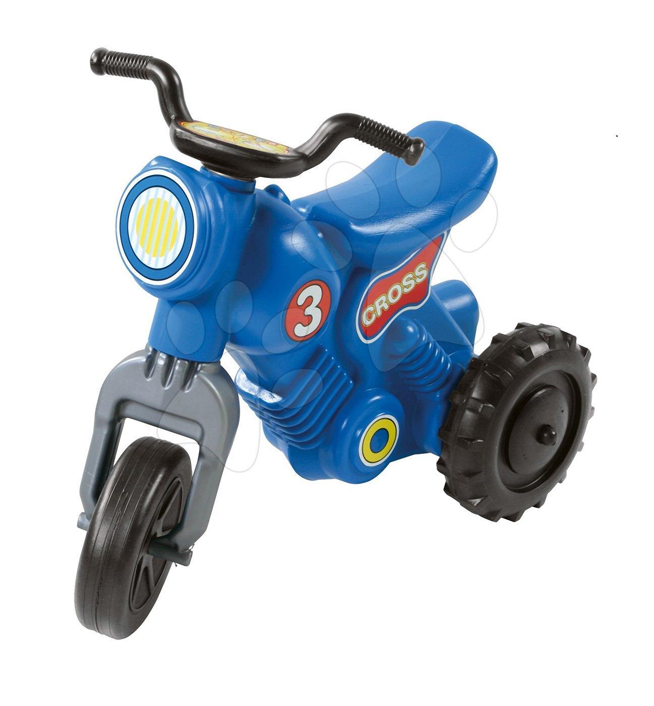Motorky - Odrážadlo Cross 3 Motorbike Dohány modré