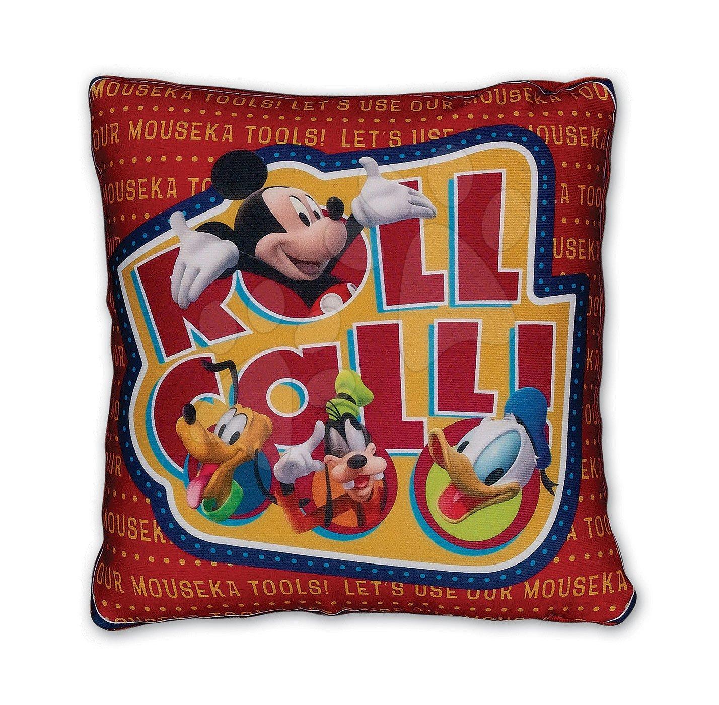 Plyšové vankúše - Microbeans Mickey Mouse Club House vankúš Ilanit