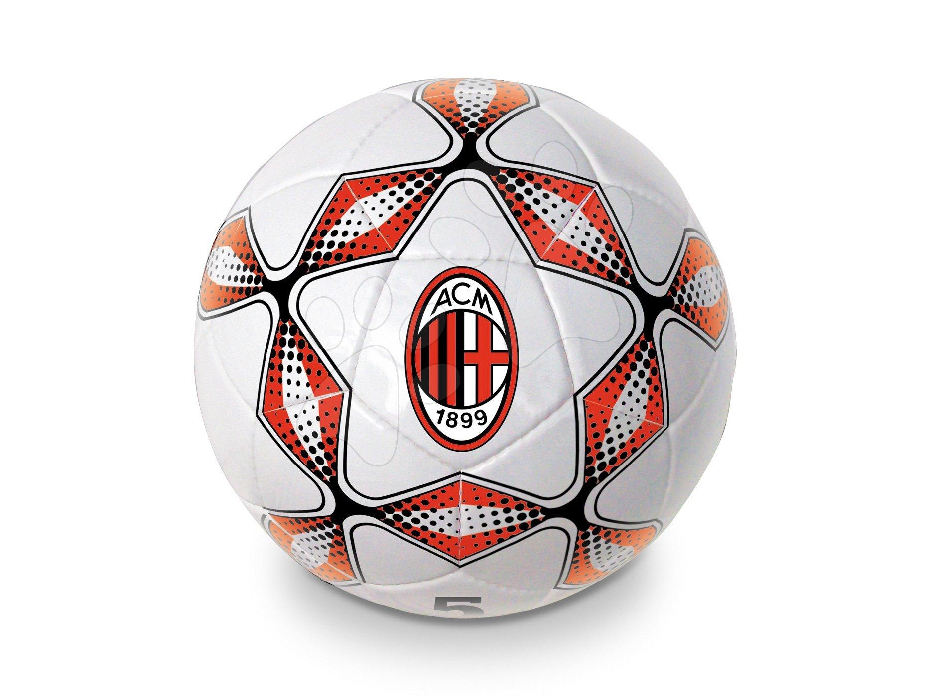 Sportovní míče - Fotbalový míč šitý A.C. Milán Pro Mondo velikost 5