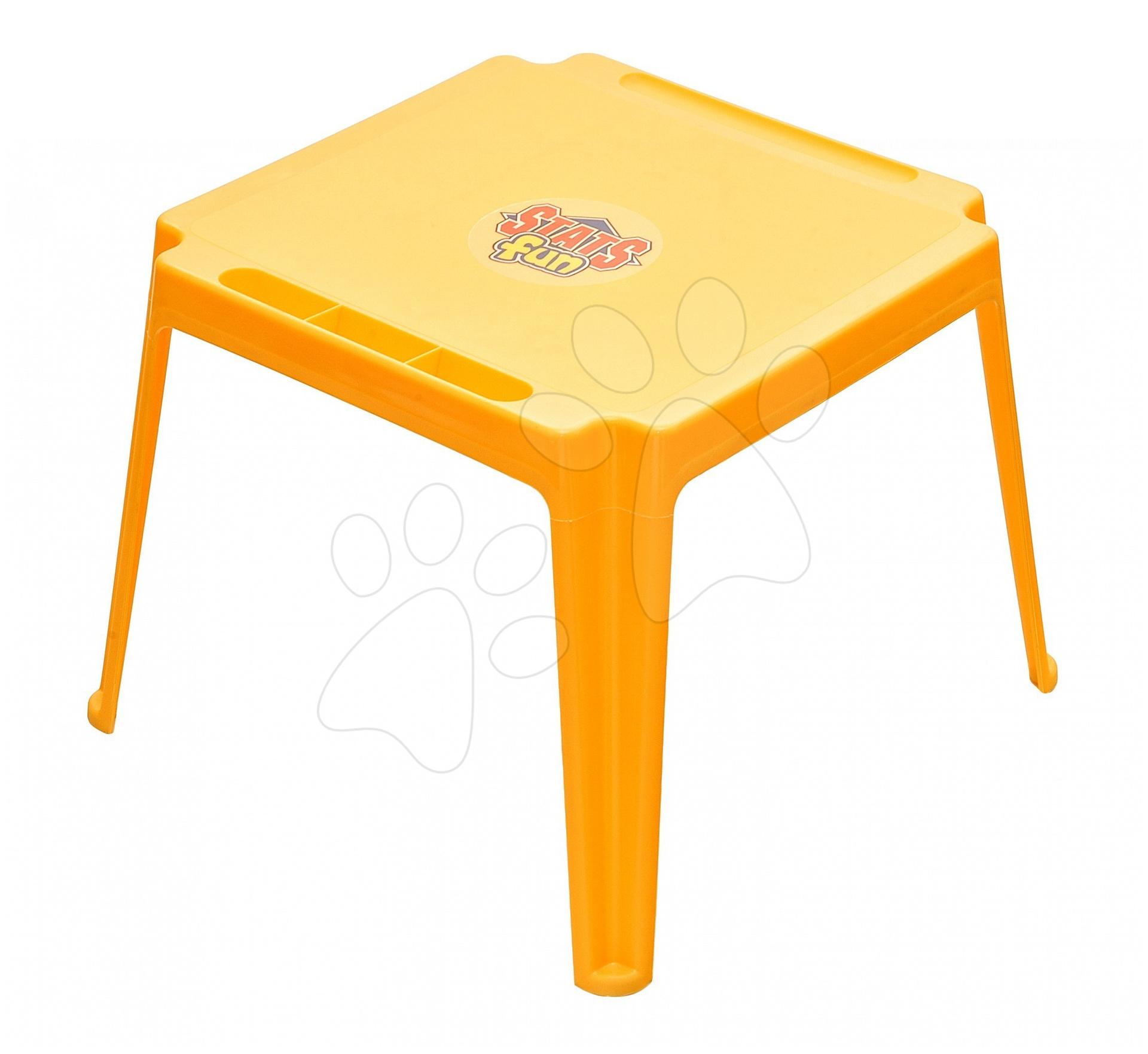 Stůl Starplast žlutý od 24 měsíců