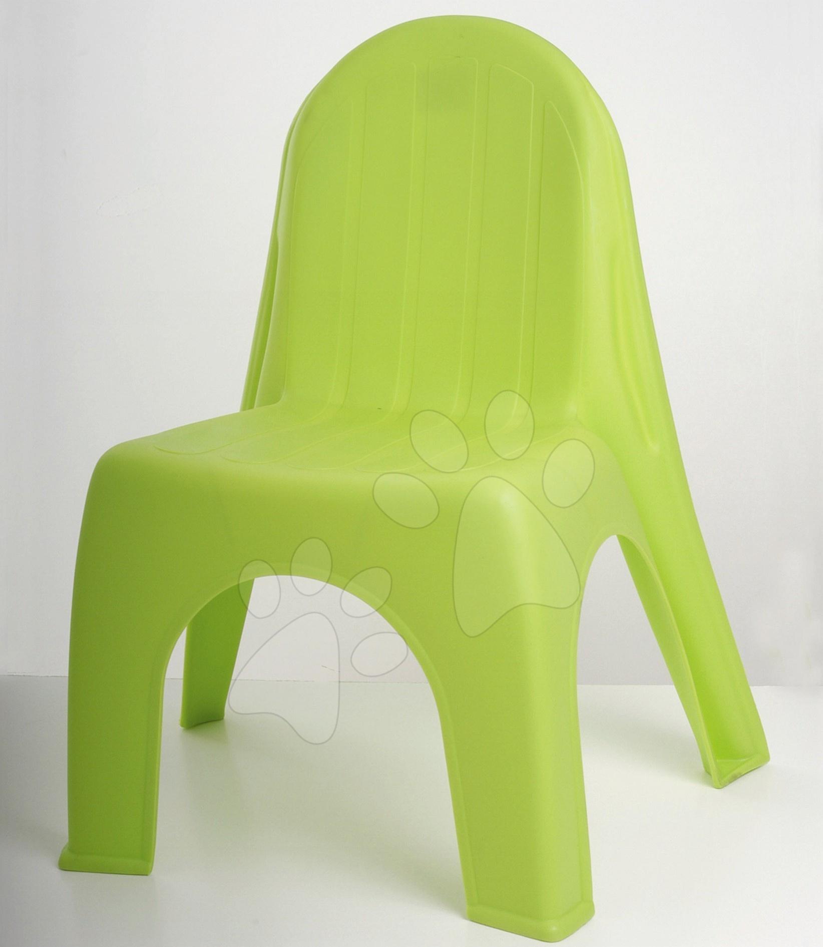 Židle Alice Starplast matná zelená