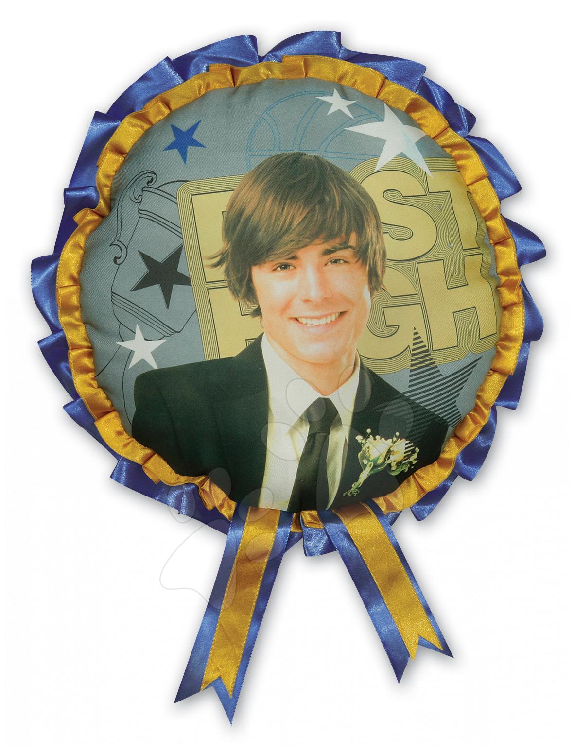 Plyšové polštáře - Polštář WD High School Musical Troy Ilanit 30 cm