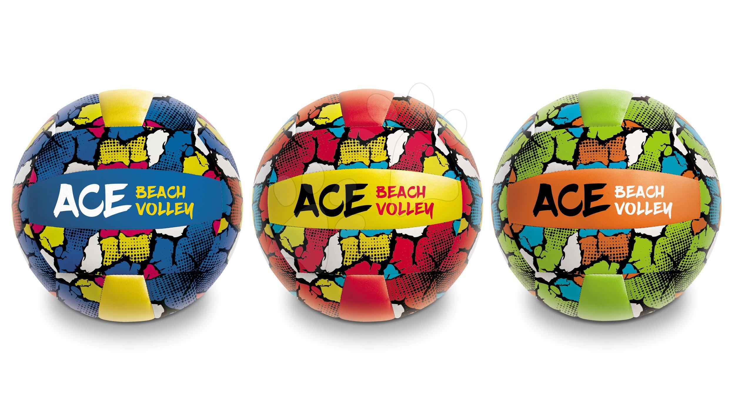 Sportovní míče - Volejbalový míč šitý Beach Volley Ace Mondo velikost 5