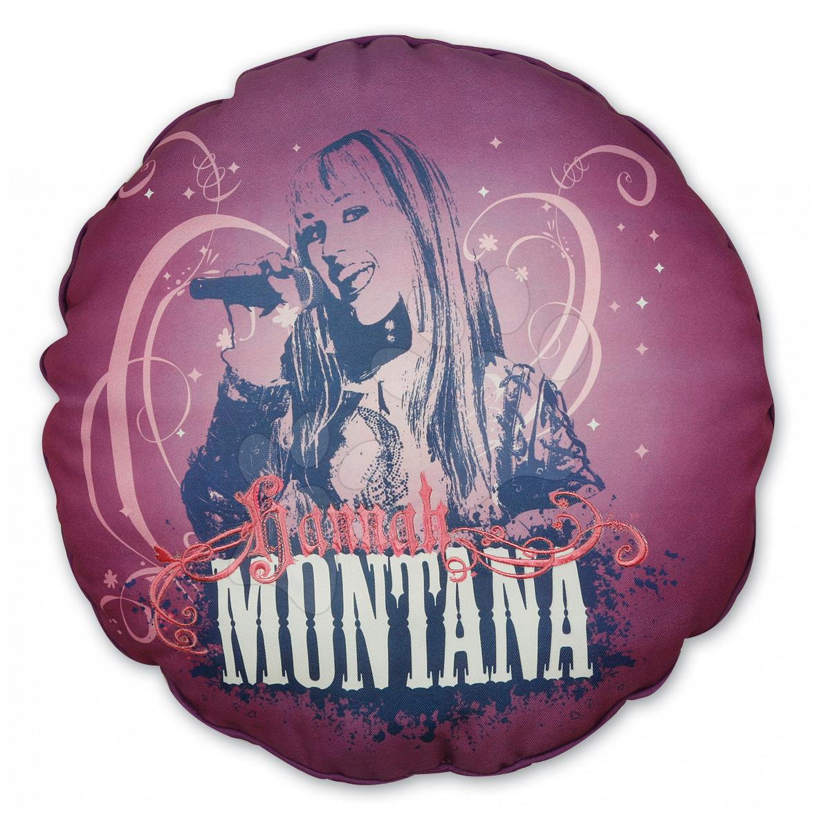 Hanna Montana pink polštářek Ilanit 36 cm