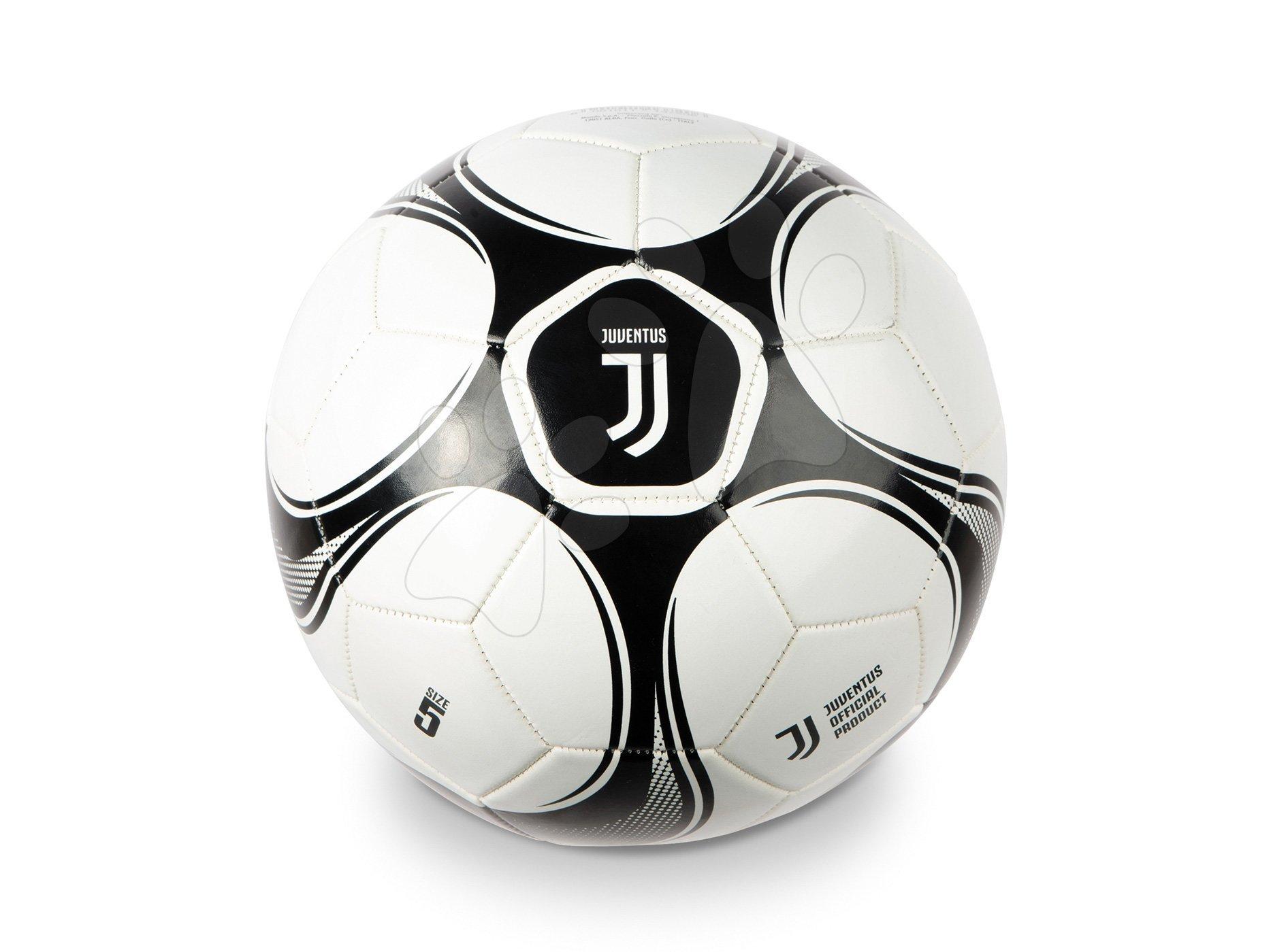 Sportovní míče - Fotbalový míč šitý F.C. Juventus Pro Mondo velikost 5