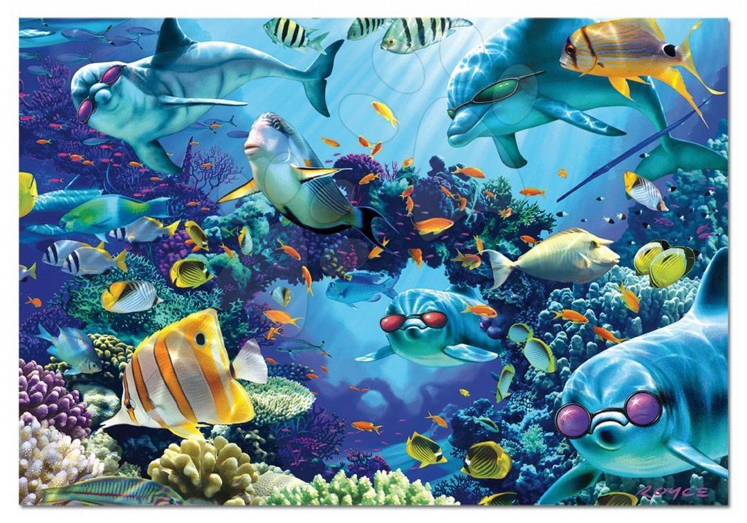 Educa Puzzle 500 delov morský svet 48 x 34 cm