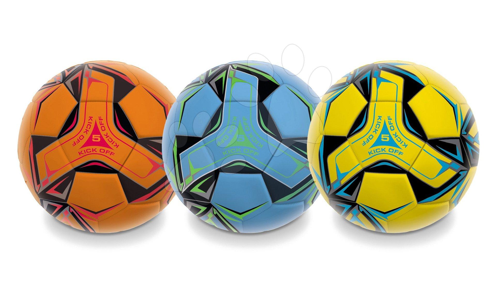Fotbalový míč šitý Kick Off Mondo velikost 5