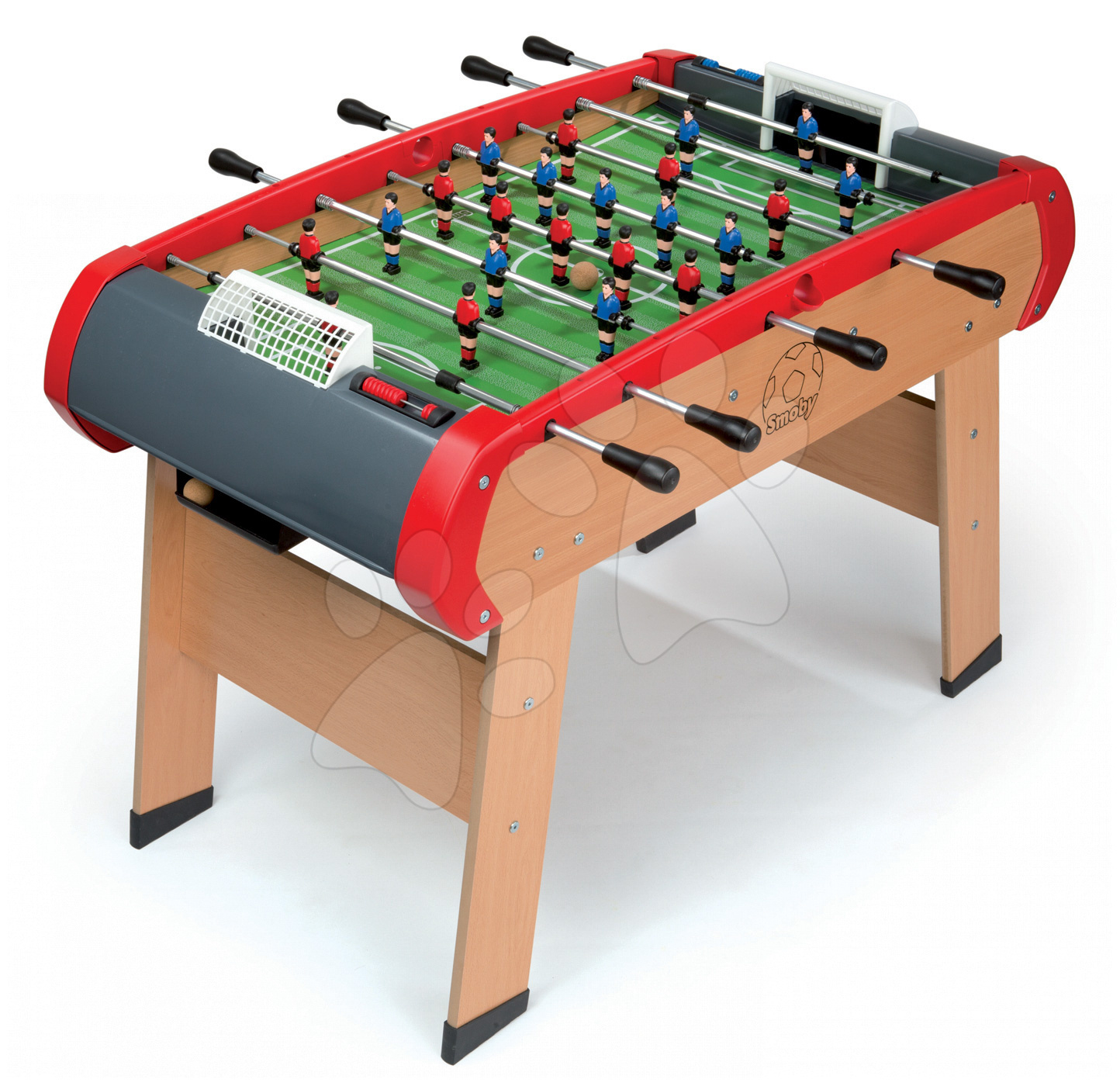 Stolný futbal - Drevený futbalový stôl Champions Smoby od 8 rokov