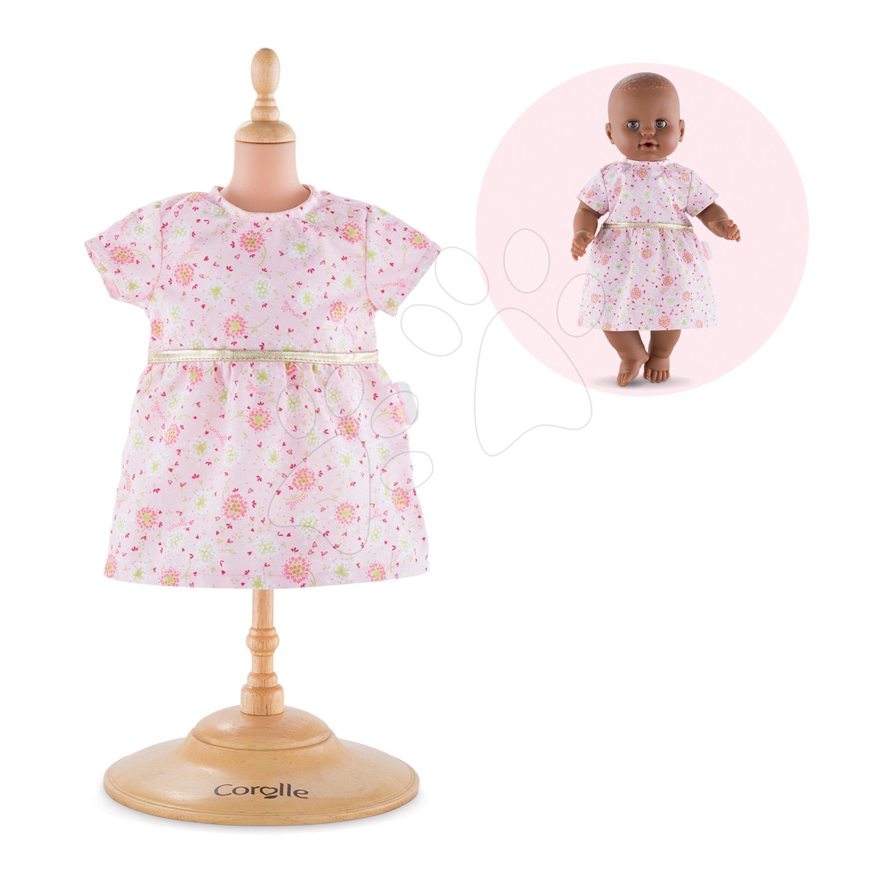 Oblečení Dress Pink Mon Grand Poupon Corolle pro 36 cm panenku od 24 měs
