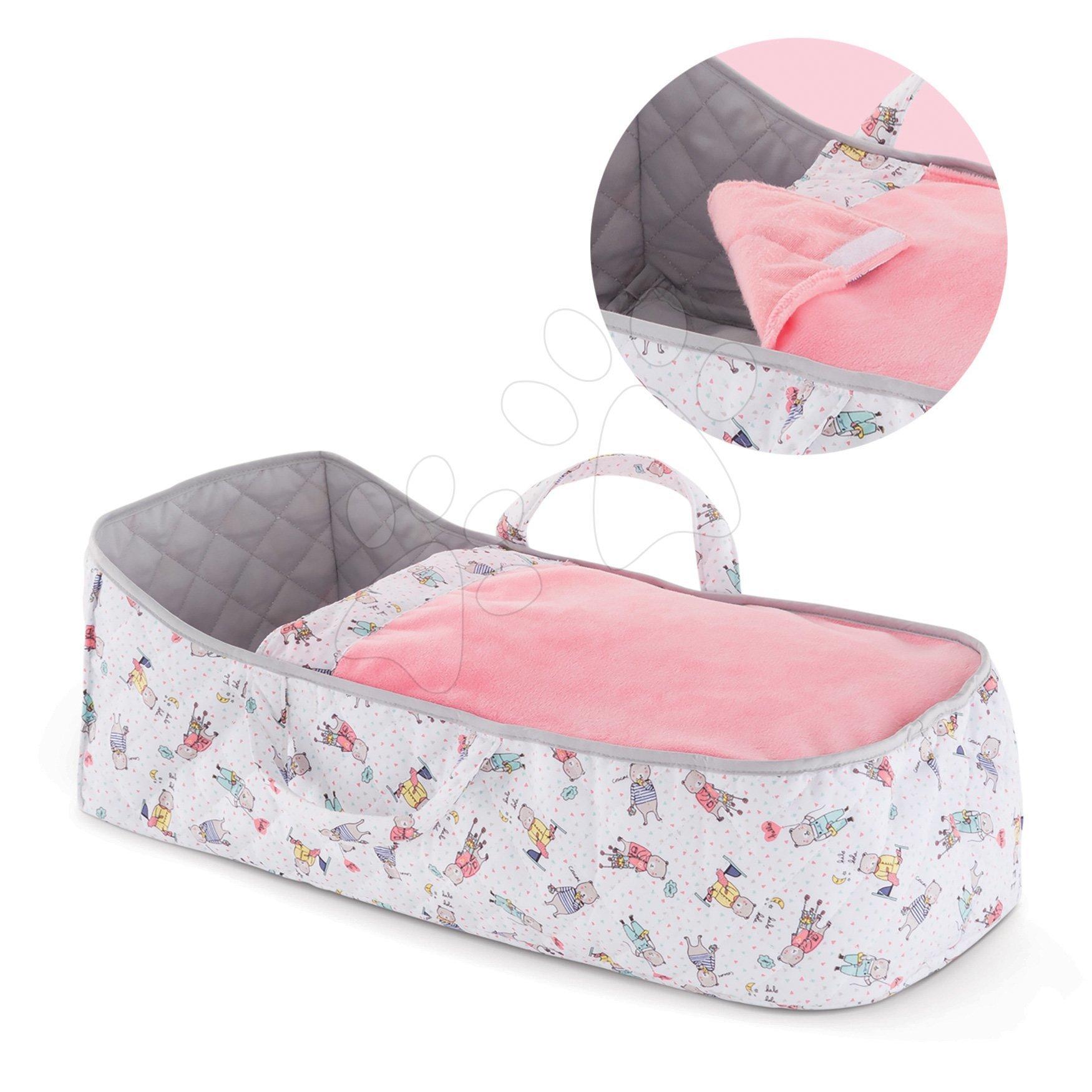 Pătuț portabil Carry Bed Mon Grand Poupon Corolle pentru păpușă de 36-42 cm de la 24 de luni
