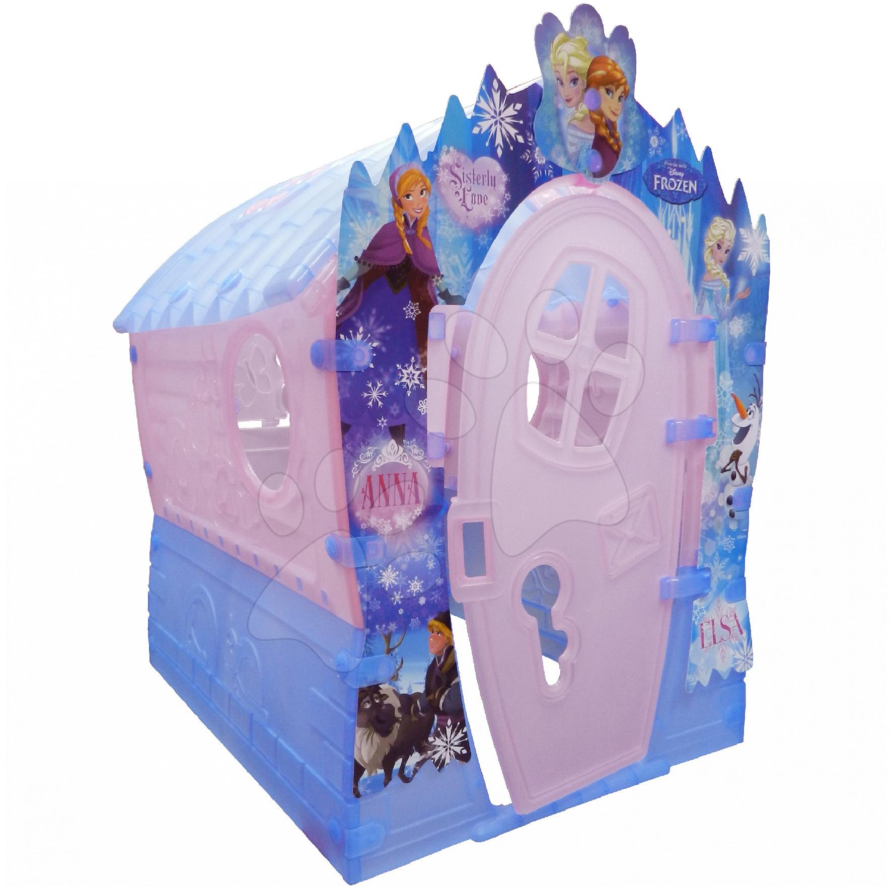 Domčeky pre deti - Domček Frozen Dream House PalPlay ružovo-modrý od 24 mes