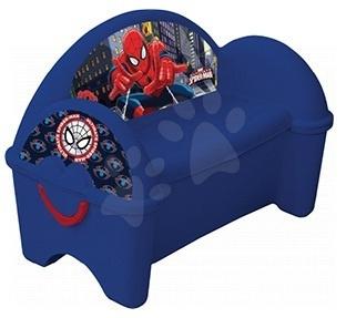 Nezaradené - Pohovka a úschovňa hračiek Spiderman PalPlay modrá od 24 mes