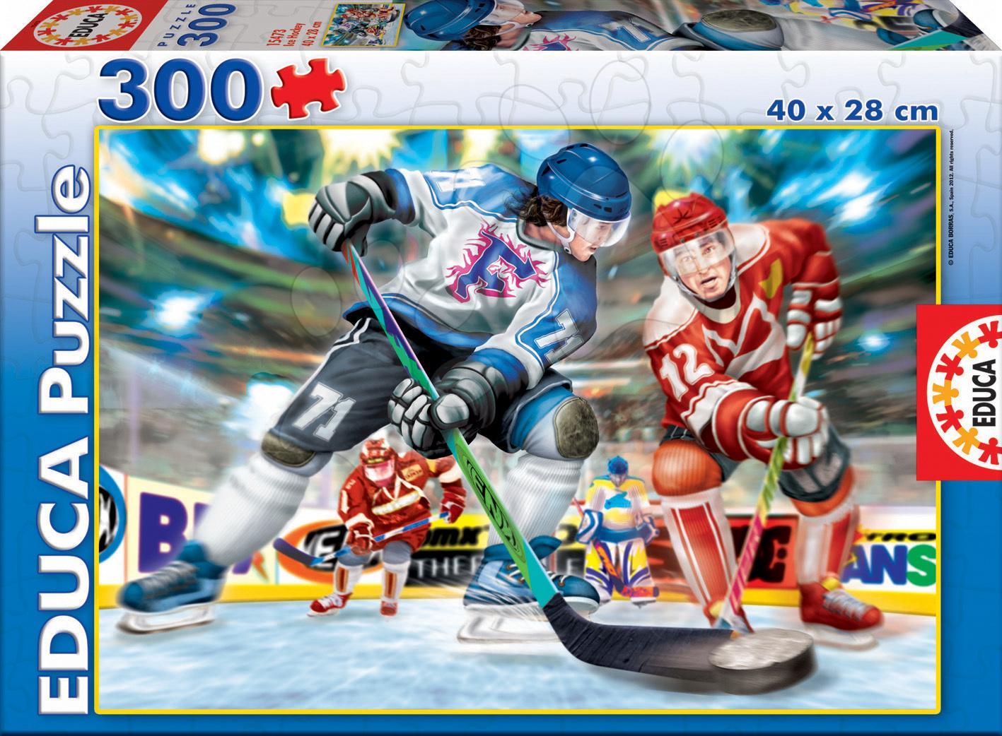 Puzzle Junior ľadový hokej Educa 300 dielov od 8 rokov