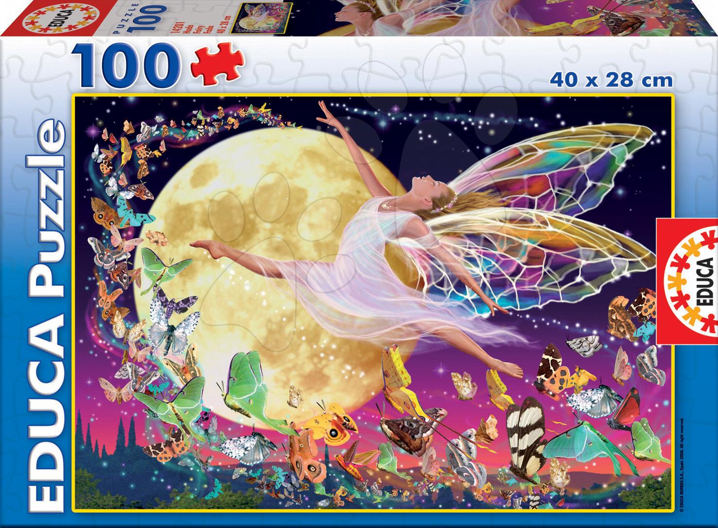 Puzzle Junior Víla Educa 100 dílů od 5 let